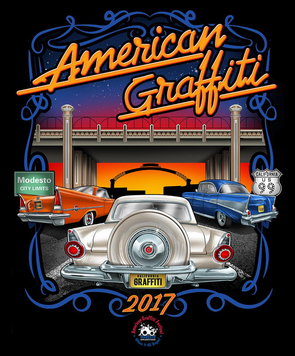 American Graffiti Festival by the North Modesto Kiwanis Club